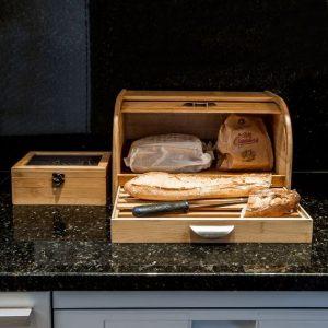 Les points forts d'une boîte à pain en bois