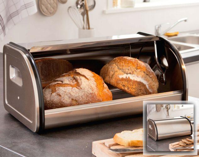 boite à pain en inox