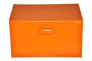 boîte à pain Waterquest en acier orange