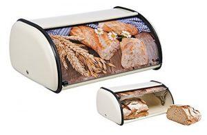 boite à pain Pickin Trading en métal blanc