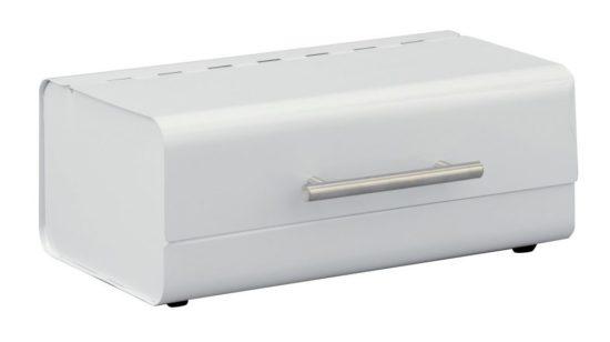 boîte à pain Zeller solide en blanc