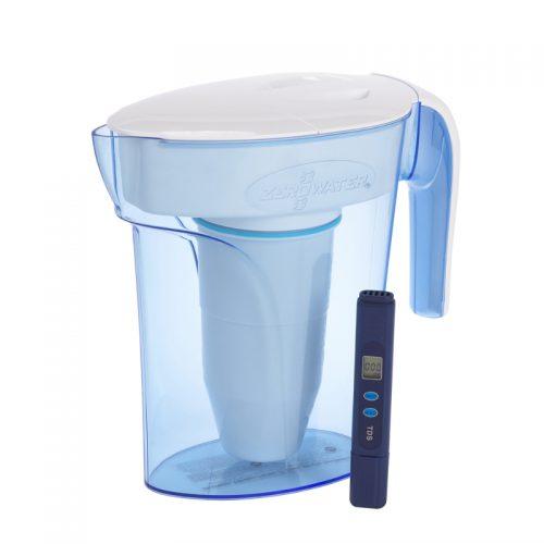 entretien de la carafe filtrante zero water
